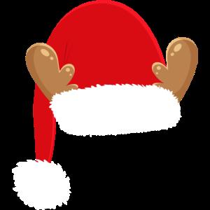 Weihnachten Nikolaus Mütze