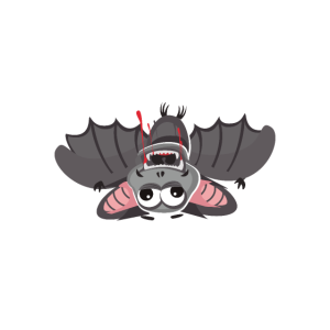 Fledermaus Bock auf abhängen Lustiger Spruch