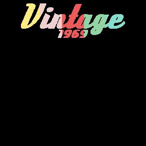 Vintage 1969 Vintage 50Th Birthday