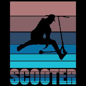 Scooter Stunt Tretroller Roller Geschenkidee