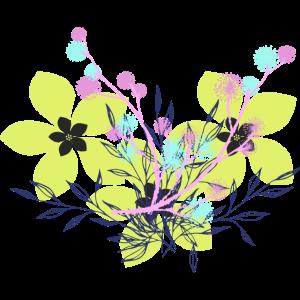 gelbe Blumen Shirt