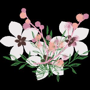 Blumen Beige