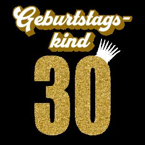 30. Geburtstag 30 Jahre 30er Geburtstagskind