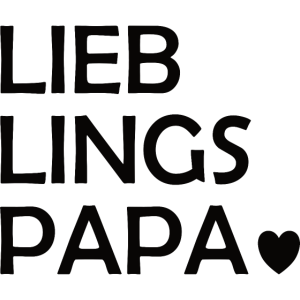 Papa   Vater   Vatertag   Lieblingspapa