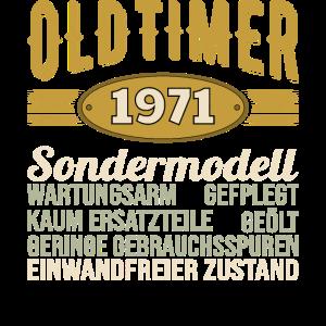 50. Geburtstag Oldtimer 1971 Einwandfreier Zustand
