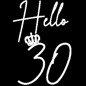 30 Jahre Geburtstagsgeschenk