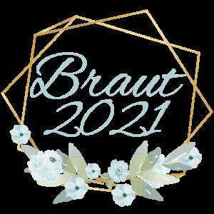 Blau Eukalyptus Boho - Braut 2021