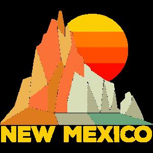 Retro New Mexico Geschenk für Menschen aus New