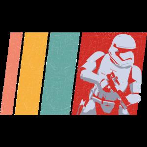 Retro Farben Krieg der Sterne