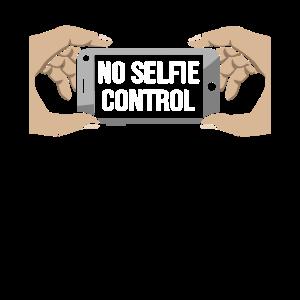 Kein Selfie Kontrolle Lustige Selfie Tag Spiegel