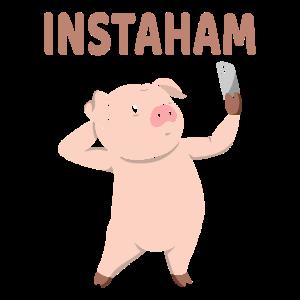Instaham Lustig Mädchen Selfie Jungen Selfie Mirro