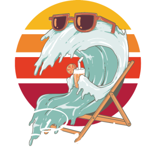 Beachin - Funny Travel Vacation Trip