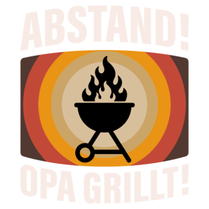 Opa Großvater Vatertag Spruch Geburtstag Opi Grill