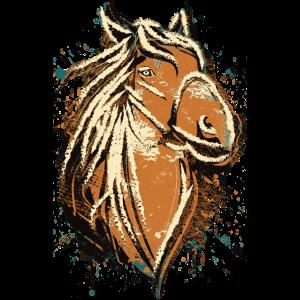 Pferd - Pferdekopf - Fohlen - Reitschule