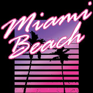 Miami Beach Retro 80s