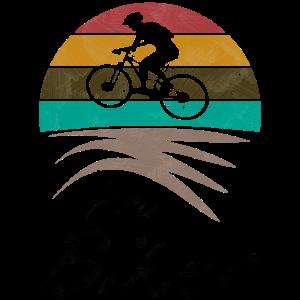 Profi Montainbiker Retro Fahrrad Geschenk