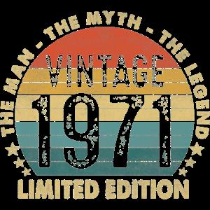 Vintage 1971 Geschenk