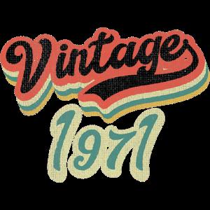 Vintage 1971 50. Geburtstag Geschenk