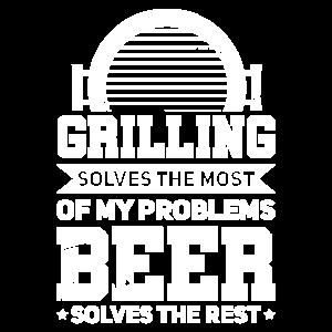 Grillen Griller Grillmeister Bier Geschenk