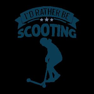 Scooter Roller Tricks Stunts Skatepark