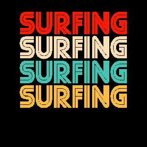 Surfing Retro
