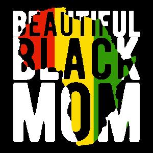 Juneteenth Feier Schöne schwarze Mutter