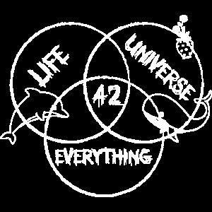 LIFE UNIVERSE EVERYTHING - Leben, Universum, alles