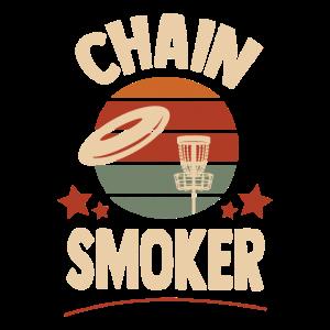 Disc Golf Chain Smoker
