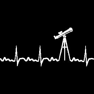 Teleskop Herzschlag Astronomie Sonnensystem Wissen