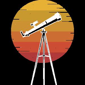 Teleskop Retro Astronomie Sonnensystem Wissenschaf