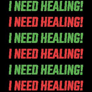 Ich brauche Heilung