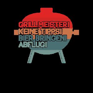 Grillmeister Grillen Grill Party Geschenk