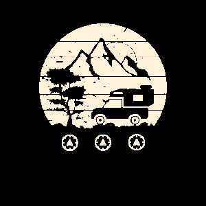 Pickup Wohnkabine Vintage Reisemobil Camping