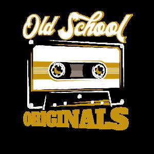 Old School Originals Oldschool Kassette Geschenk