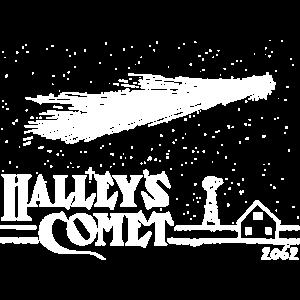 Halley s Komet lustige Geek Wissenschaft UFO Astronomie