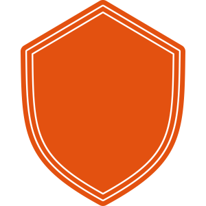 Wappen Schild leer