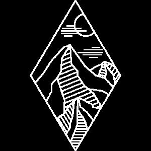 Geometrie Berge Wandern Bergliebhaber