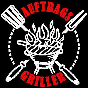 Auftragsgriller Grillen BBQ Grillmeister Geschenk