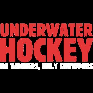 Unterwasser-Hockey Keine Gewinner Nur Überlebende