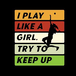Tennis Spielerin Frau Ballsport Tennisschläger