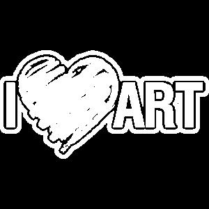 Künstler Ich liebe Kunst