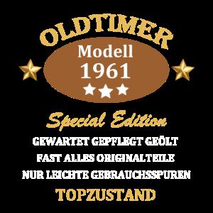 Oldtimer Modell Special Edition Jahrgang 1961
