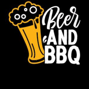 cooles BBQ Design BBQ und BIER