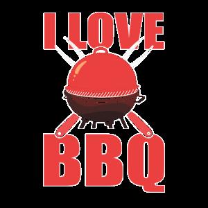 cooles BBQ Design I love BBQ