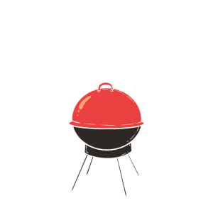 cooles BBQ Design Grill Smoker