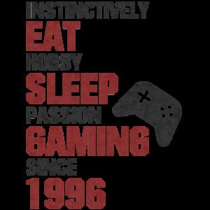 Geburtstag Gamer 1996 Geboren Gaming
