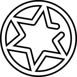 Gnisten Ry (sort tryk - uden tekst)