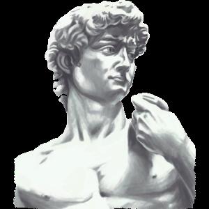 David Statue Kopf Michelangelo Skulptur Art Kunst