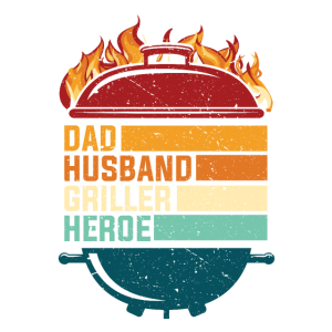 Herren Papa Geschenk Dad Husband Griller