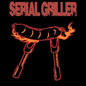 serial griller Bratwurst